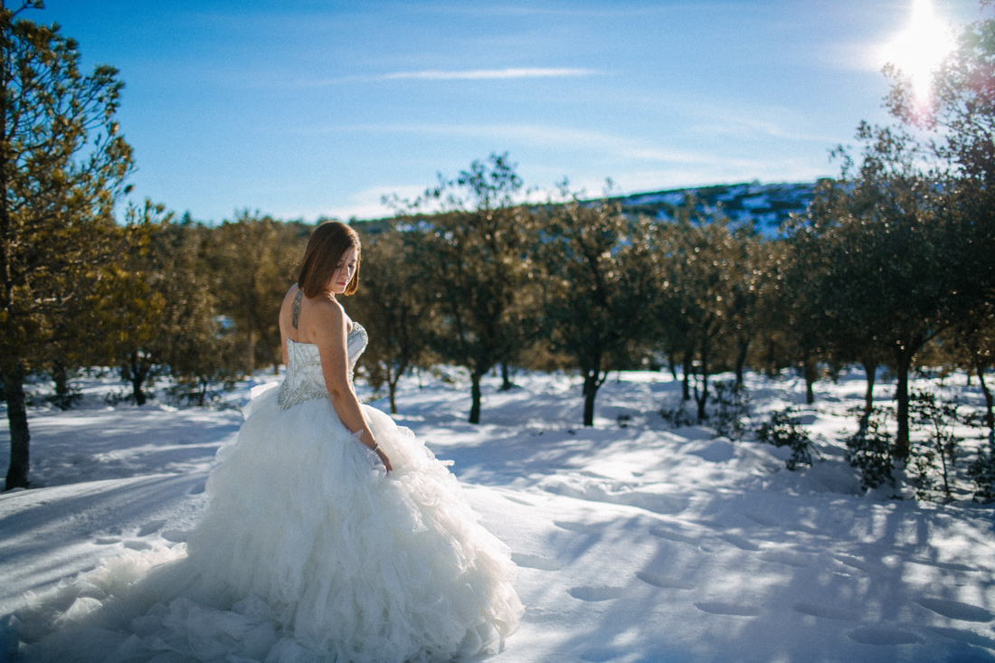 Roman soto fotografo de bodas Postboda Nieve