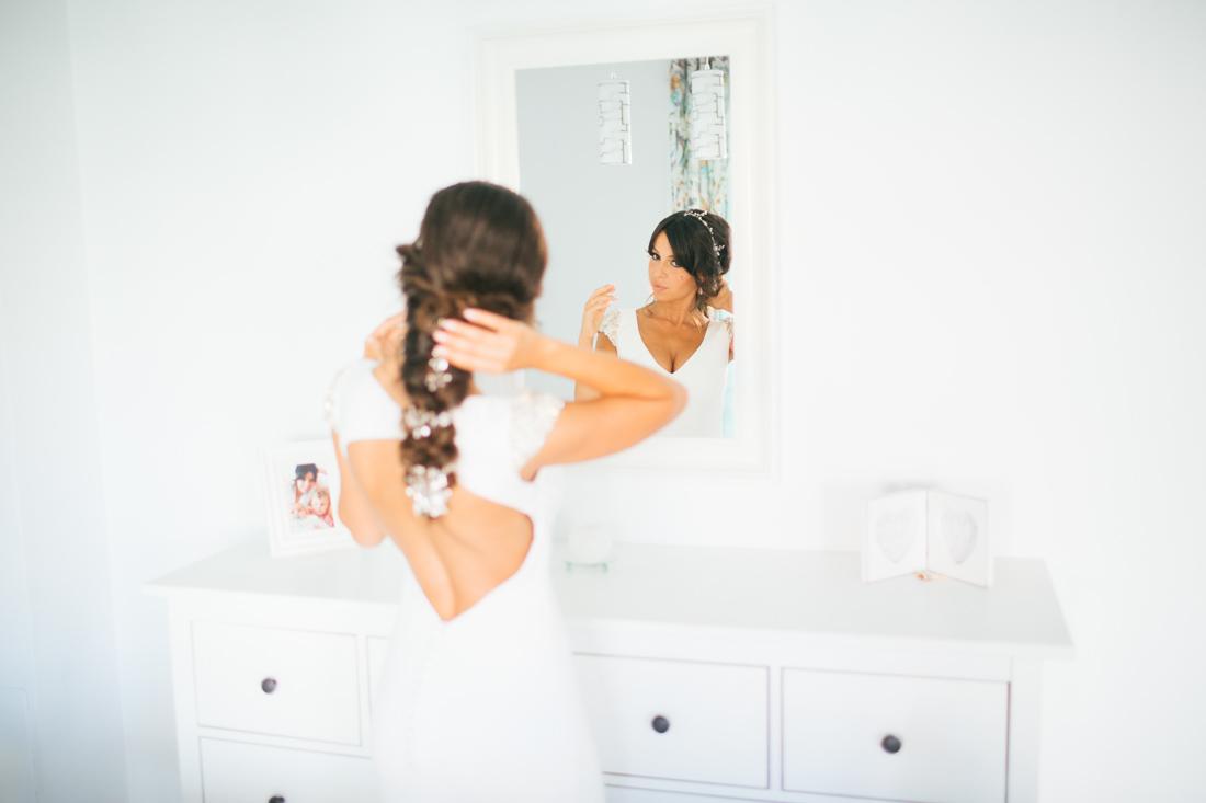 Roman soto fotografo de bodas La novia