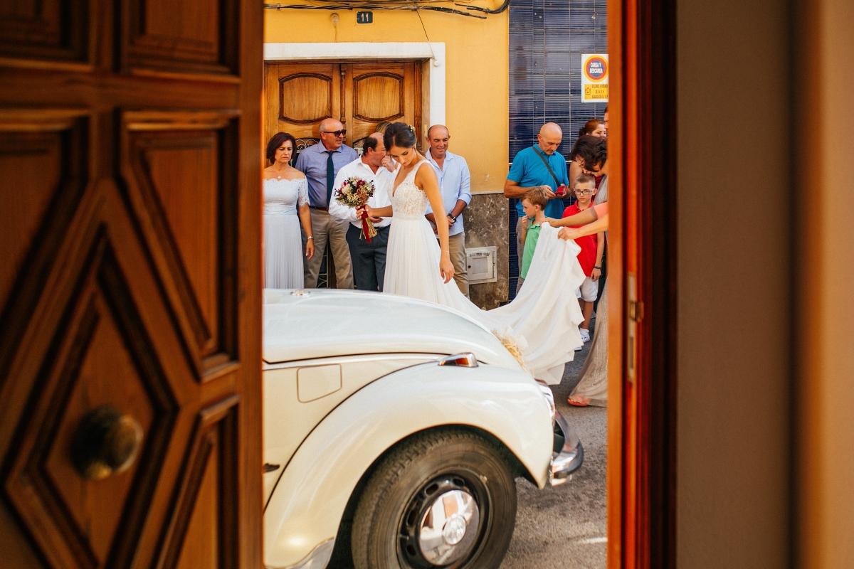 reportaje boda Mas les lloses roman soto